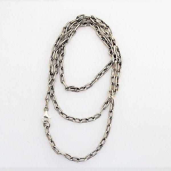 Łańcuch srebrny długość 75cm